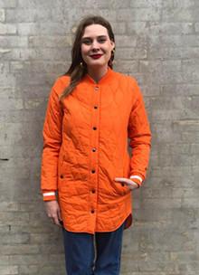 Global Funk Even jakke i orange