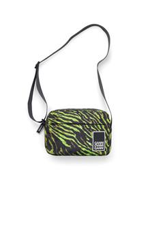 Ganni A2053 Tech taske i neon grøn