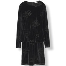 Ganni Bloomsbury kjole i Sort