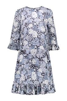 Ganni F3178 Heather kjole i blå