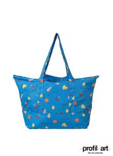 Ganni Fairmont Shopper taske i blå