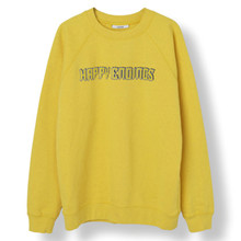 Ganni Lott Isoli Happy Endings Sweater i gul