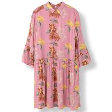 Ganni Marceau Georgette kjole i pink