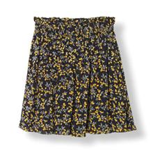Ganni Marceau Georgette nederdel i sort