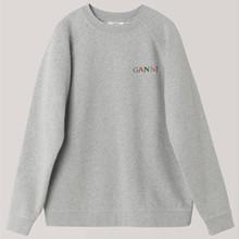 Ganni Paloma Melange T1991 Sweatshirt i grå