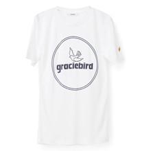 Ganni T1811 Perrin Lyocell T-shirt i hvid