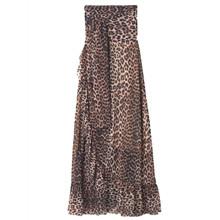 Ganni Tilden Mesh T1981 nederdel i leo