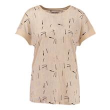Garcia F70204 t-shirt i creme