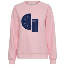 Gestuz Carlotta sweatshirt i pink