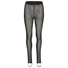 Gestuz Khloe Tights i sort m. glimmer