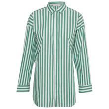 Gestuz Wray Skjorte i grøn og hvid