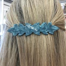 Plissé Copenhagen Josephine Large hårspænde i lyseblå