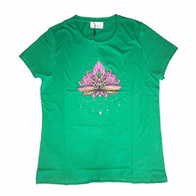 Neo Noir Lotus t-shirt i grøn