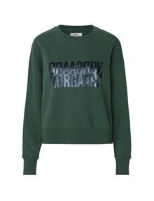 Mads Nørgaard Tilvina Organic sweatshirt i grøn