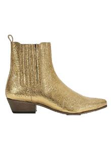 Ivylee Bailey Pointy støvler i guld