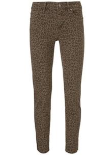 Ivy Copenhagen Daria Jeans Worn Leopard i brun