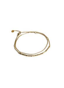 Jane Kønog Beads armbånd i guld