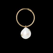 Jane Kønig Baroque Pearl ørering i forgyldt