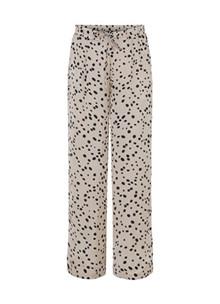 Karmamia Faye bukser i creme m. prikker
