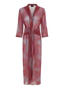 Karmamia Hailey Wrap kimono i pink