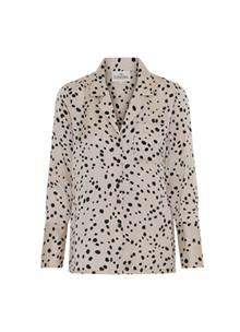 Karmamia Maxine skjorte i creme m. prikker