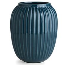 Kähler Hammershøi mellem vase i petroleumsblå