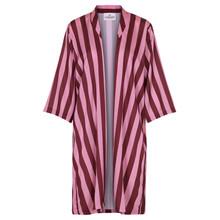 Karmamia Burgundy Stripe kimono i stribet