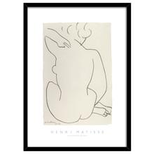 Knud Høi Henri Matisse Nu Nude plakat