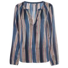 Kudibal Amalie tunic bluse i stribet