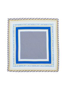 Lala Berlin Cube Kaida XS tørklæde i multi