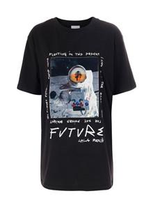 Lala Berlin Delta Astronaut t-shirt i sort