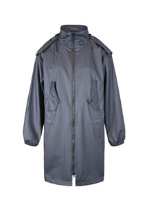 Lala Berlin Raincoat Cain regnjakke (str. L-XL) i sort