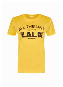 Lala Berlin Reda T-shirt i gul