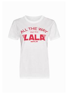 Lala Berlin Reda T-shirt i hvid