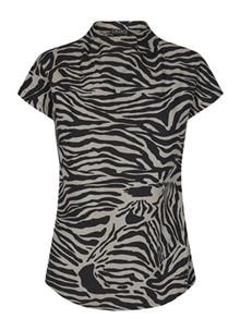 Liberté Alma top i zebra - L –XL
