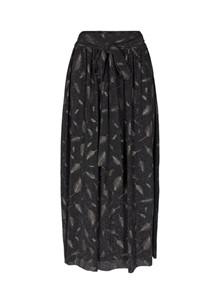 Liberté Fleur nederdel i sort m. sølv