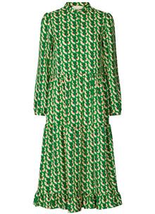 Lollys laundry Anita kjole i grøn