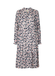 Lollys Laundry Audrey kjole i navy
