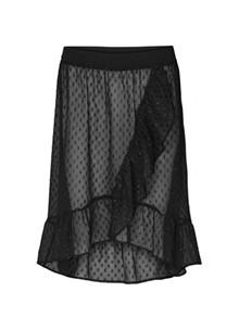 Lollys Laundry Bertha nederdel i sort