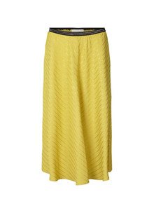Lollys Laundry  Cuba nederdel i gul