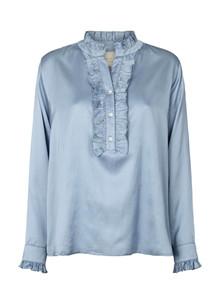 Lollys Laundry Franka skjorte i lys blå