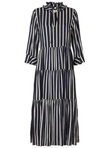 Lollys Laundry Liliya kjole i stribet