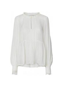 Lollys Laundry Maya bluse i hvid