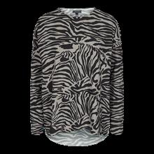 Liberté Alma LS bluse i zebra STR. XS-S