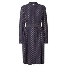 Lollys Laundry French kjole i blå m. guld