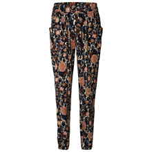 Lollys Laundry Gonna bukser i navy m. blomster