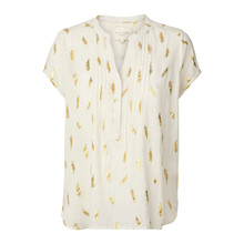 Lollys Laundry Heather skjortebluse i creme