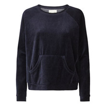 Lollys Laundry Shanghai sweat i navy