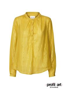 Lollys Laundry Singh skjorte i guld og guld