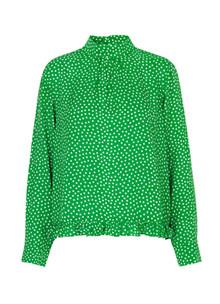 Mads Nørgaard Baska bluse i grøn